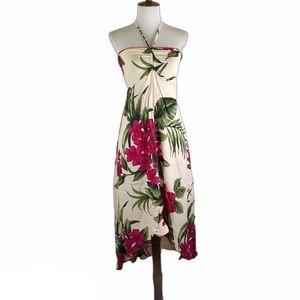 Favant Hawaii Hibiscus halter dress